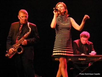 Jazz Lady : chanteuse de jazz en duo tio ou quartet, animation musicale Paris Normandie