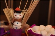 Animation noel enfant: atelier brochette bonbon paris caen