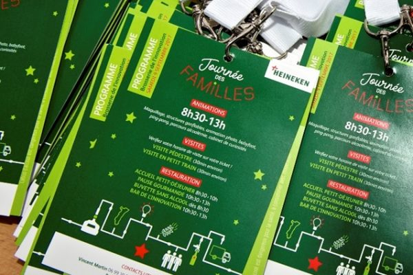 organisation family day journee famille strasbourg - univers graphique personalisé
