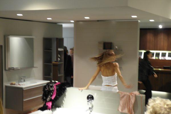 Lancement produit Paris - showroom salle de bain, nouvelle collection