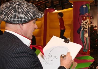 Arbre de Noel: maquilleuses, sculpteur ballon, caricaturiste, Nanterre