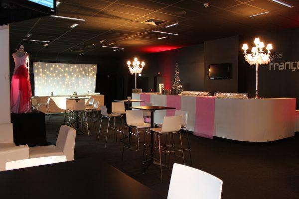 Soirée entreprise - decoration, cocktail, mobilier - Paris Caen Rouen
