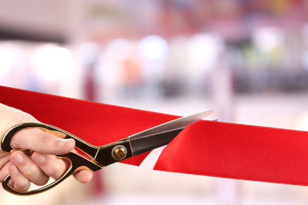 Inauguration entreprise nouveaux locaux, siège social, nouveau bureau