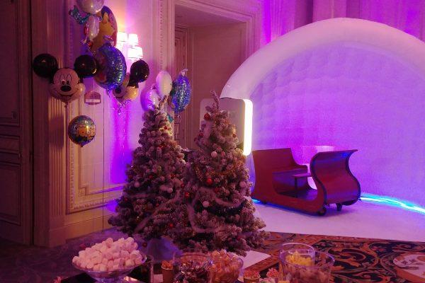 realisation arbre de Noel prestigieux Paris
