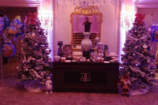 Realisation arbre de Noel palace prestigieux - Paris 8