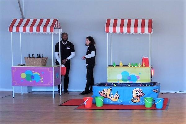 Animation jeu fete foraine stand lancer et peche canard - animation evenement convivial