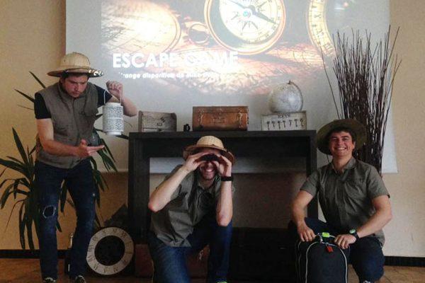 team building escape game nomade aventurier activité cohésion entreprise seminaire deauville paris chantilly