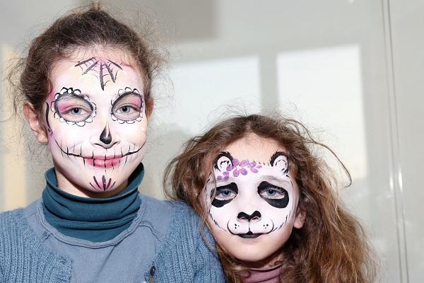 Animation maquillage enfant halloween
